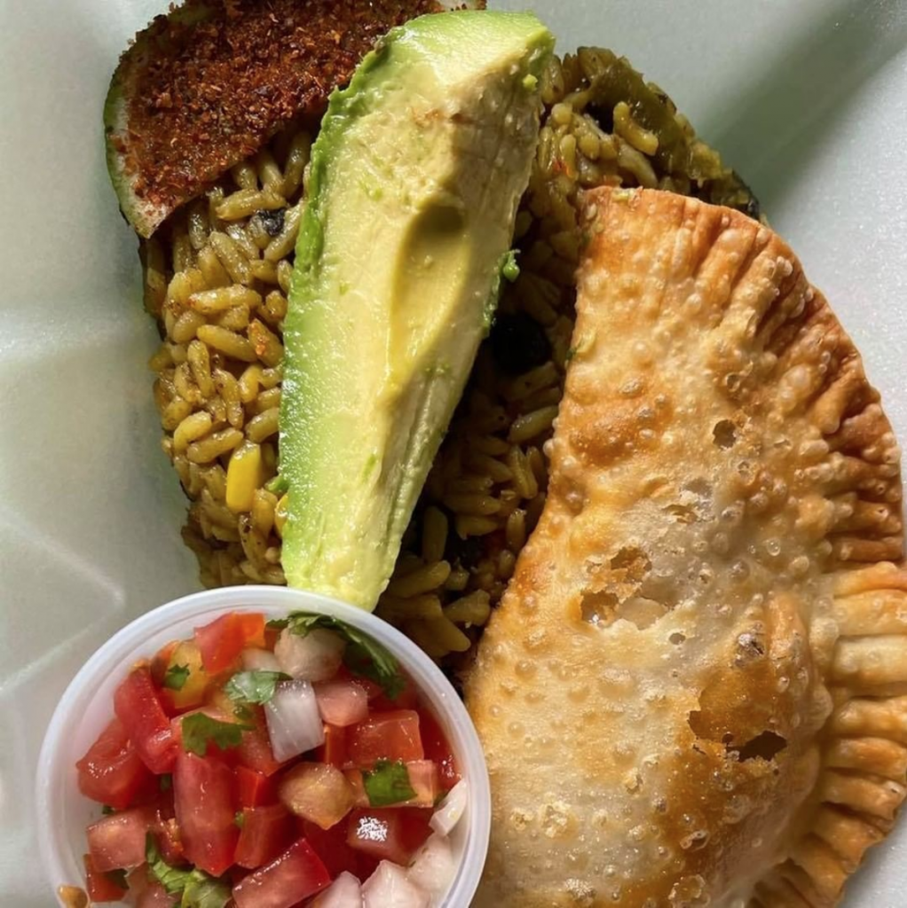 Traditional Puerto Rican food